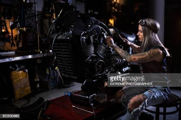 Motorcycle repair shop
