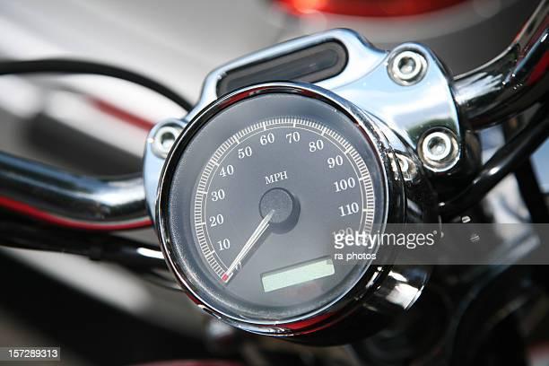 Motorcycle velocímetro