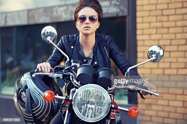 motorcycle style - motorbike stock photos and pictures