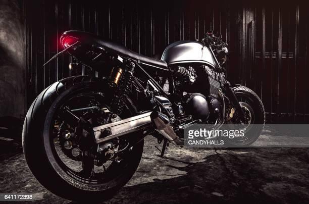 Motorcycle the custom motorbike.