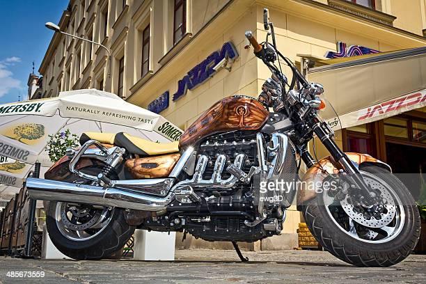 Motorcycle Triumph Rocket III