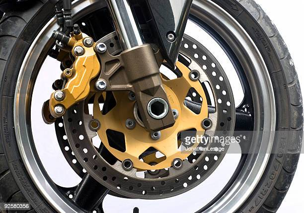 motorcycle wheel and disc brake