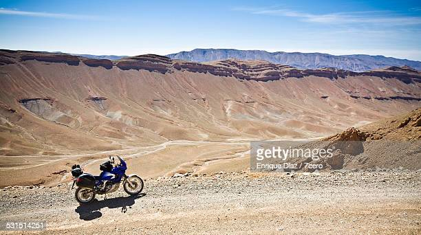 Motorcycling adventure in the High Atlas Range