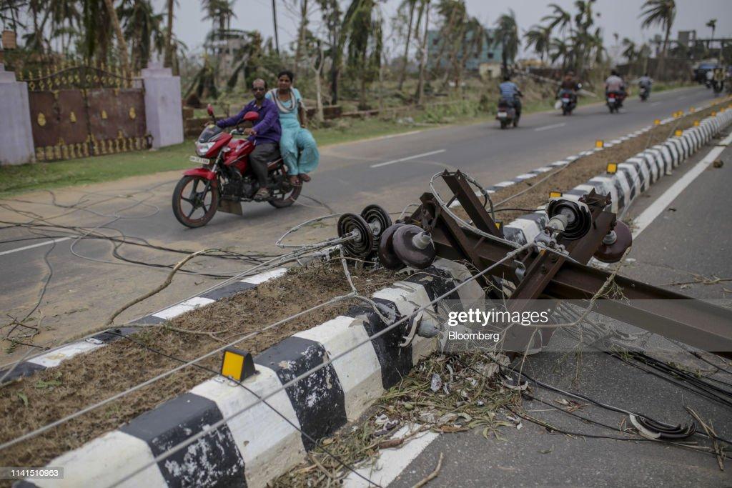 Havoc In India's Odisha Coast After Storm Fani : News Photo