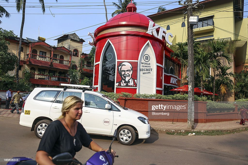 KFC Opens In India : News Photo