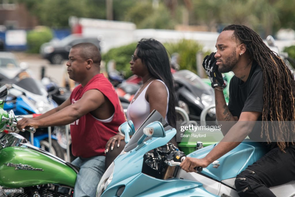 Motorcycle Enthusiasts Attend Black Bike Week In Myrtle Beach