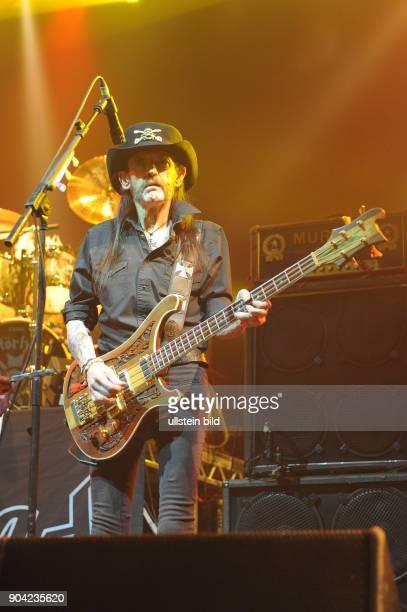 Motorhead Motörhead Motoerhead die 1975 gegruendete britische Rockband mit Saenger Ian Lemmy Kilmister bei einem Konzert in Hamburg Alsterdorfer...