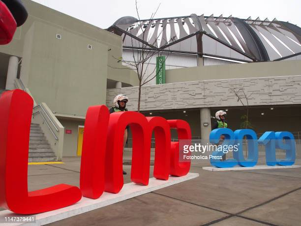 Motorized Police women at the athletic stadium of the venue of the national sports village when the Directorate of Traffic Transportation and Road...