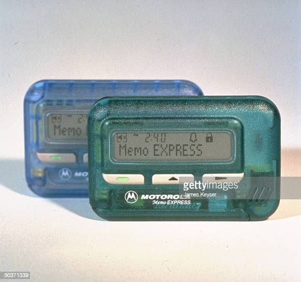 Motorola alphanumeric pager Memo Express