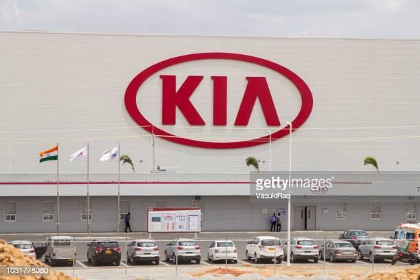 起亜自動車工場、インド - キア ストックフォトと画像