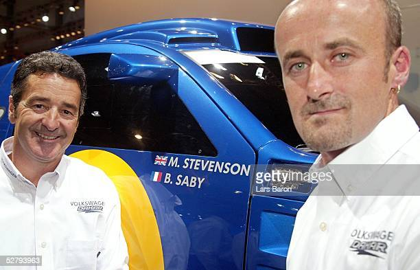 Motorshow in Essen Bruno SABY Matthew STEVENSON