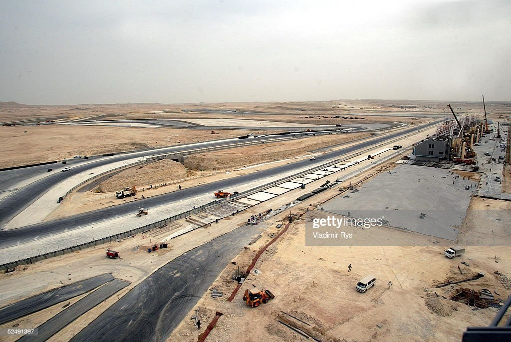 Motorsport/Formel 1: Bahrain International Circuit 2004 : News Photo