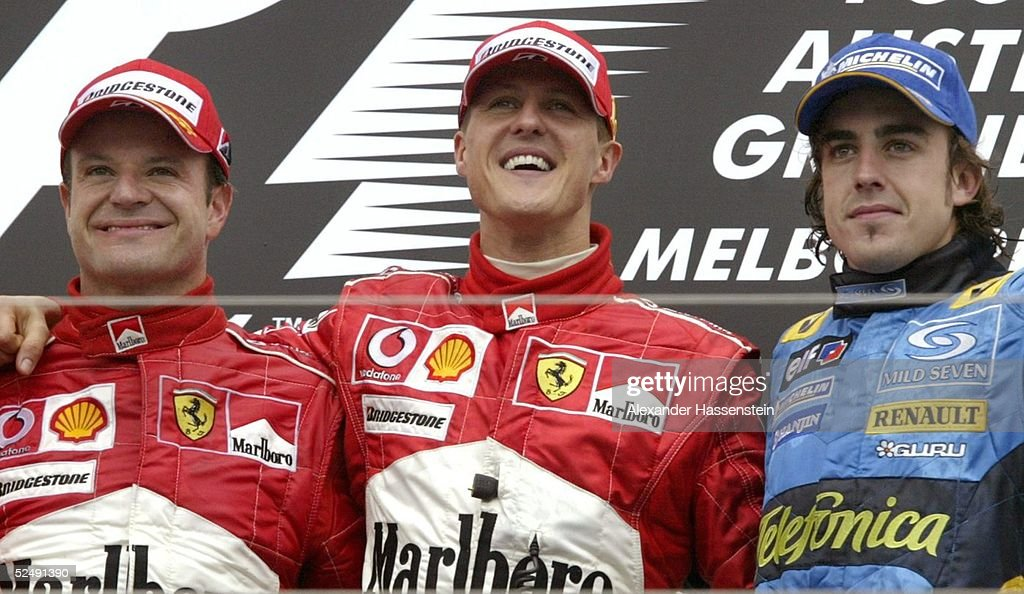 Motorsport/Formel 1: GP von Australien 2004 : News Photo