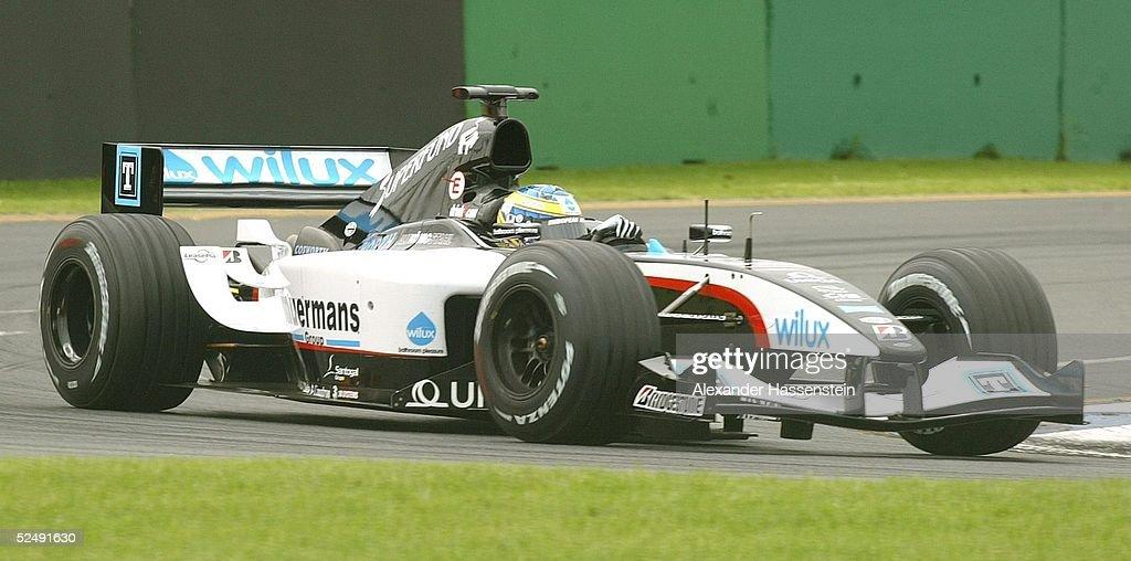 Motorsport/Formel 1: GP von Australien 2004 : News Photo