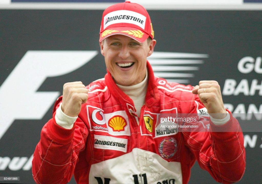 Motorsport/Formel 1: GP von Bahrain 2004 : News Photo