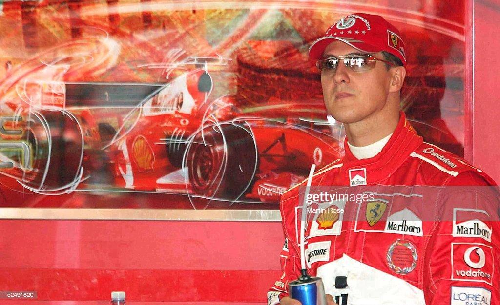 GP von China 2004, Shanghai; Michael SCHUMACHER / GER / Ferrari 24.09.04.