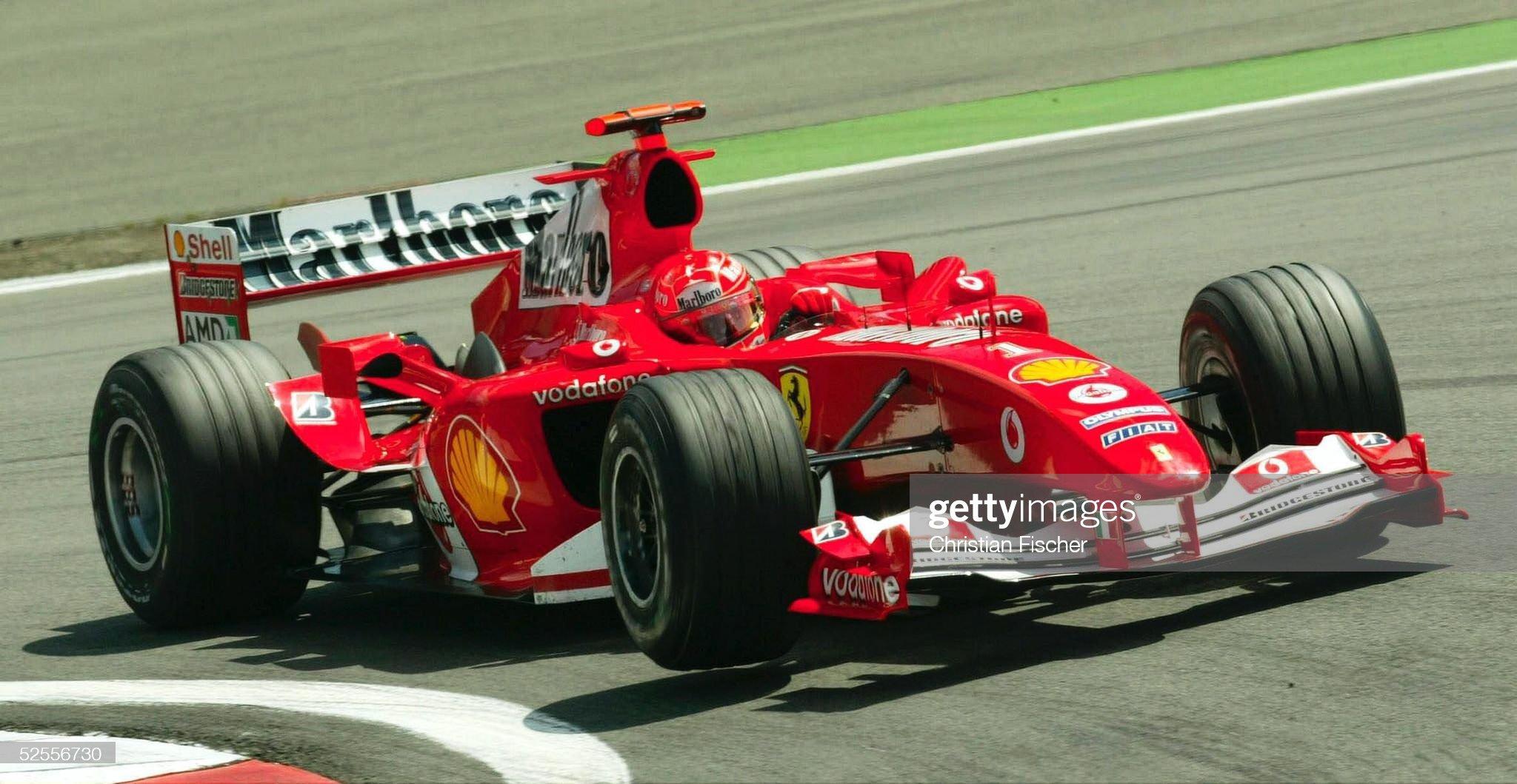Motorsport/Formel 1: GP von Europa 2004 : News Photo