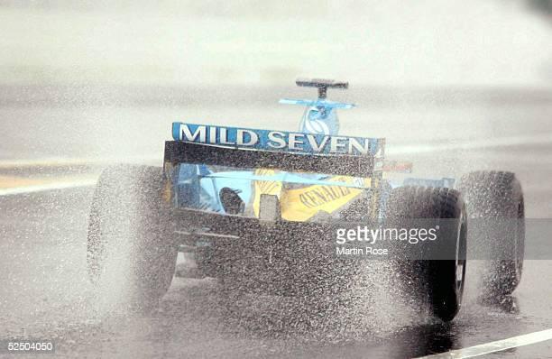 Motorsport / Formel 1: GP von Japan 2004, Suzuka; Fernando ALONSO / ESP / Renault .