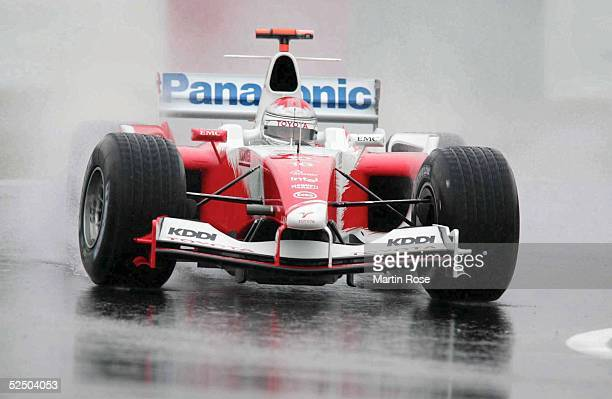 Motorsport / Formel 1 GP von Japan 2004 Suzuka Jarno TRULLI / ITA / TOYOTA RACING