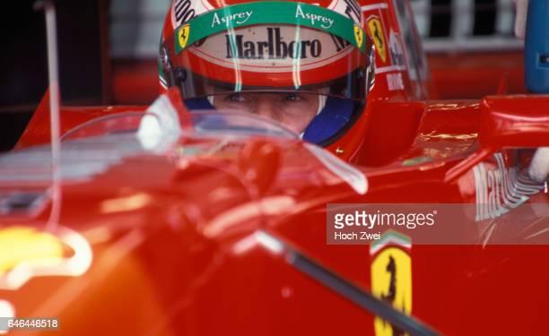 Motorsport / Formel 1: GP von Spanien 1997, Eddie Irvine www.hoch-zwei.net, copyright: HOCH ZWEI