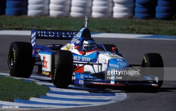 Motorsport / Formel 1: GP von Spanien 1997, Gerhard Berger www.hoch-zwei.net, copyright: HOCH ZWEI