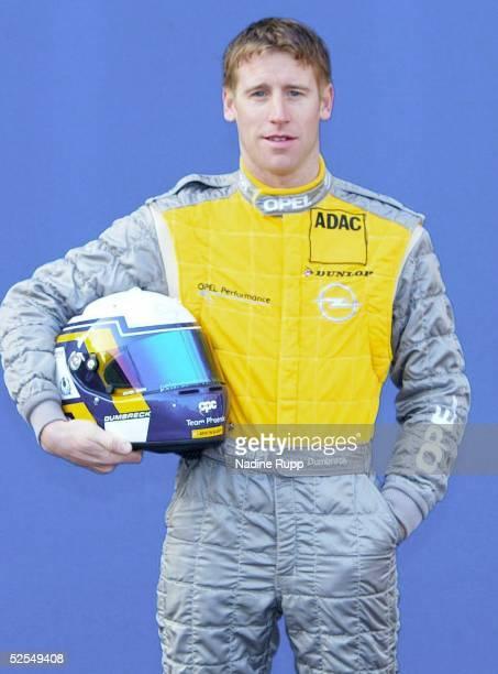 Motorsport / Tourenwagen: DTM 2004, Hamburg; Praesentation; Peter DUMBRECK / SCO, OPC Team Phoenix 30.03.04.