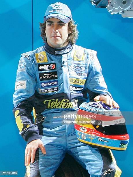 Motorsport/Formel 1 Praesentation Renault 2005 Monte Carlo 010205 Fernando ALONSO