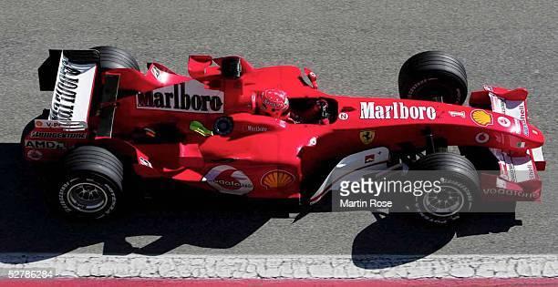 Motorsport/Formel 1 Testfahrten 2005 Barcelona 150205Michael SCHUMACHER/GER/Ferrari