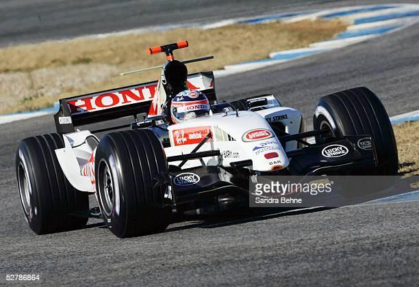 Motorsport/Formel 1 Testfahrten 2005 Jerez 070205Takuma SATO/BAR