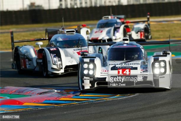 Motorsports 24h Le Mans 2014 Porsche 919 Hybrid Porsche Team