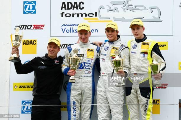 Motorsports / ADAC Formel Masters Neuhauser Racing Mikkel Jensen Neuhauser Racing ADAC Württemberg Tim Zimmermann ADAC BerlinBrandenburg eV Team...