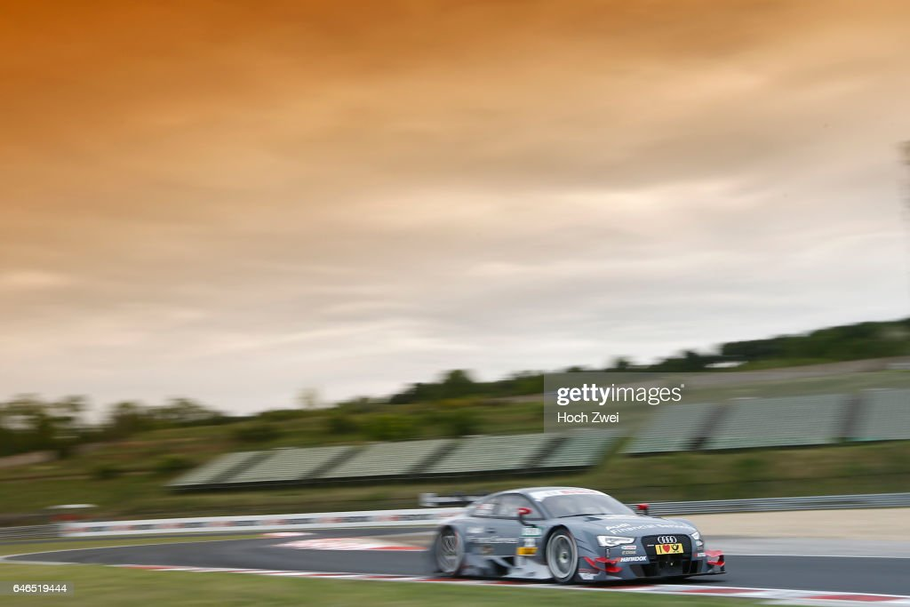 Motorsports DTM Race Budapest Pictures Getty Images - Audi financial