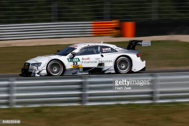 Motorsports / DTM 5 race Moskau Audi Financial Services Audi RS 5 DTM Nico Müller