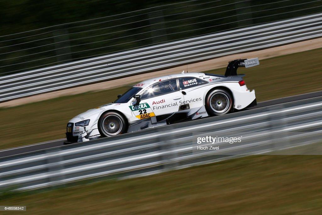 Motorsports DTM Race Moskau Pictures Getty Images - Audi financial