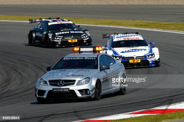 Motorsports / DTM 5 race Moskau Moscow Raceway Mercedes Saftey Car #24 Maxime Martin #9 Bruno Spengler