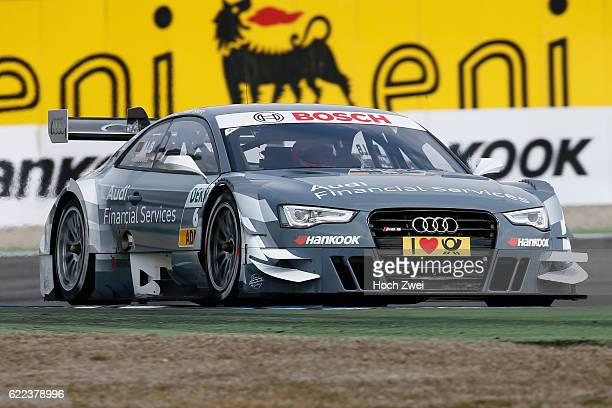 german touring cars championship 2013 Test Hockenheim Filipe Albuquerque Audi RS 5 DTM Audi Sport Team Rosberg
