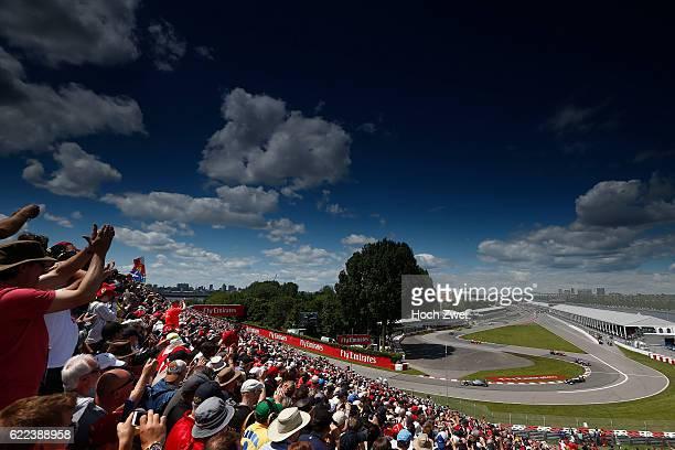 FIA Formula One World Championship 2013 Grand Prix of Canada #10 Lewis Hamilton #17 Valtteri Bottas