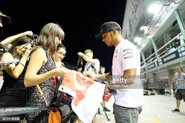 FIA Formula One World Championship 2013 Grand Prix of Singapore #10 Lewis Hamilton