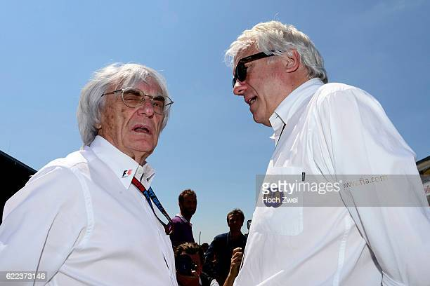 FIA Formula One World Championship 2013 Grand Prix of Germany Bernie Ecclestone Charlie Whiting