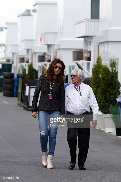 Formula One World Championship 2013, Grand Prix of Canada, Bernie Ecclestone and his wife Fabiana Flosi