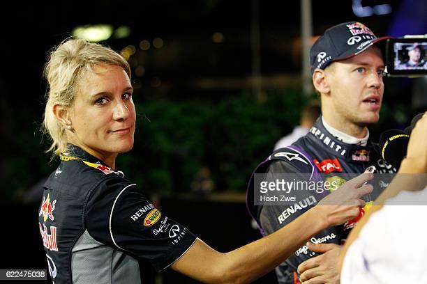 FIA Formula One World Championship 2013 Grand Prix of Singapore Britta Roeske #1 Sebastian Vettel