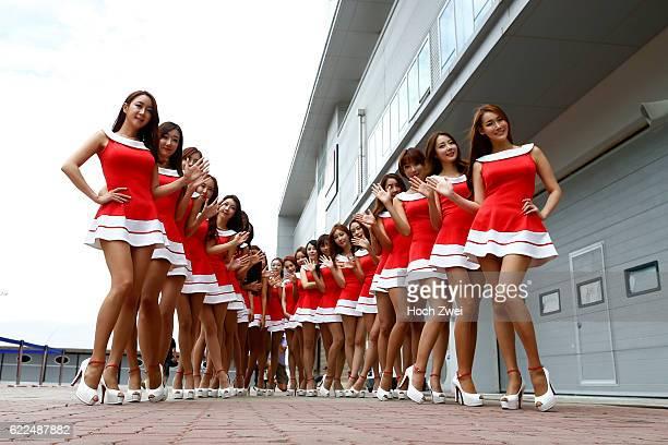 FIA Formula One World Championship 2013 Grand Prix of Korea grid girls