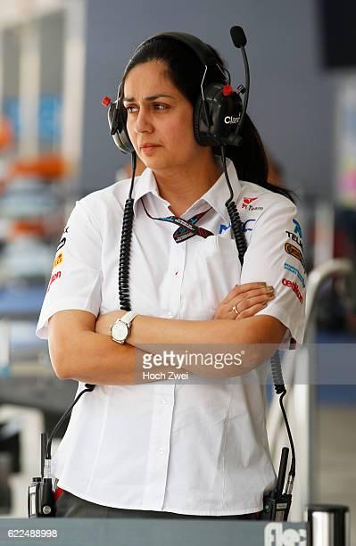 FIA Formula One World Championship 2013 Grand Prix of India Monisha Kaltenborn