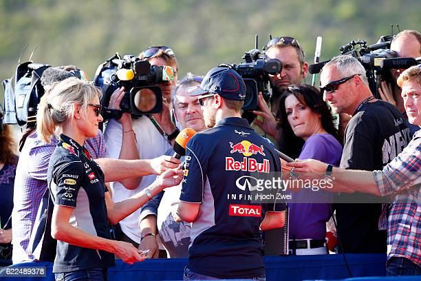 Formula One World Championship 2013, Grand Prix of Japan, Britta Roeske , #1 Sebastian Vettel ,