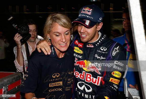 Formula One World Championship 2013, Grand Prix of India, Britta Roeske , #1 Sebastian Vettel ,