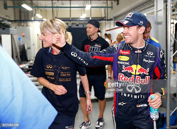 FIA Formula One World Championship 2013 Grand Prix of India Britta Roeske #1 Sebastian Vettel