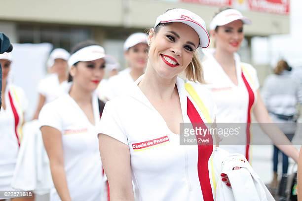 FIA Formula One World Championship 2013 Grand Prix of Brazil grid girls