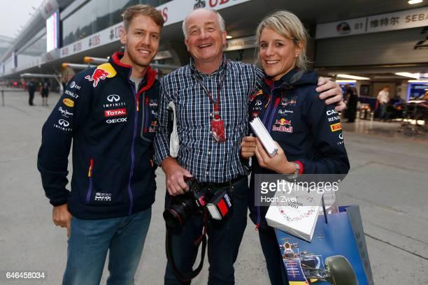 FIA Formula One World Championship 2014 Grand Prix of China #1 Sebastian Vettel Wolfgang Wilhelm Britta Roeske