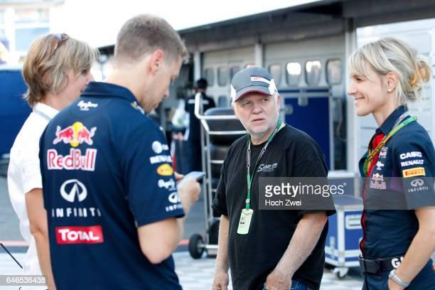 FIA Formula One World Championship 2014 Grand Prix of Germany #1 Sebastian Vettel Norbert Vettel Britta Roeske