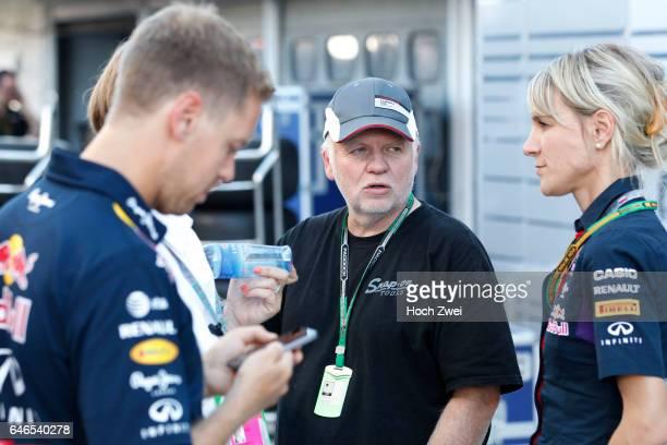 Formula One World Championship 2014, Grand Prix of Germany, #1 Sebastian Vettel , Norbert Vettel , Britta Roeske ,